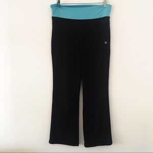 Champion Leggings Black/blue High waist. Short L
